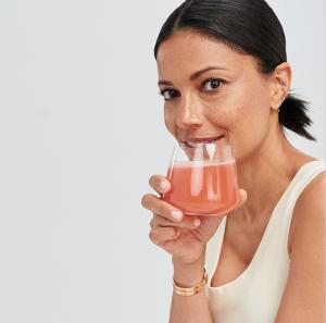 حبوب و شراب الكولاجين