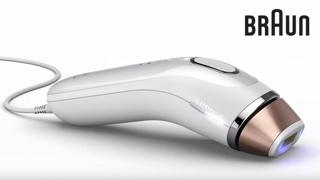Braun silk expert جهاز براون ليزر منزلي